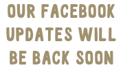 Our Facebook updates will be back soon